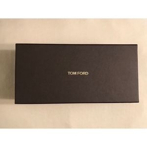 Authentic TOM FORD glasses brown logo box (empty)
